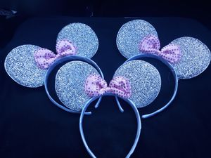 Minnie Mouse Glitter Ears 3 for 5$ for Sale in Orangevale, CA