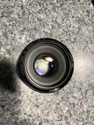 Canon 50mm f 1.8 ii for Sale in Little Ferry, NJ