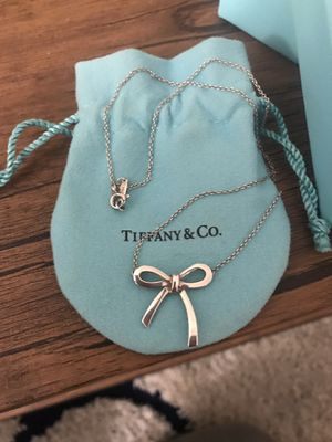 Tiffany Bow Necklace for Sale in Bridgeport, CT