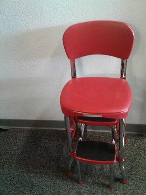 Red Retro style Chair for Sale in Stockton, CA