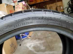 Michelin Pilot Sport A/S 3+ staggered for Sale in Torrance, CA