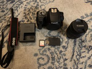 Like New Canon EOS Rebel SL2 24MP Touch Screen DSLR Camera with Lens for Sale in Portland, OR