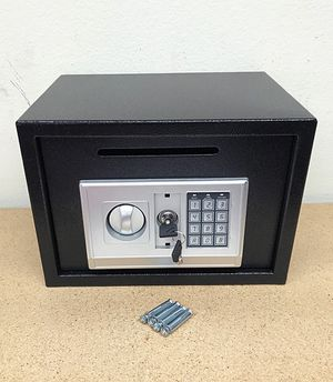 "Brand New $50 Depository 14""x10""x10"" Digital Security Safe Box Electric Keypad Lock w/ Master Key for Sale in Downey, CA"