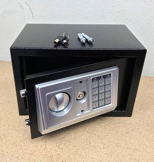 "(New in box) $35 Digital 12""x8""x8"" Security Safe Box Electric Keypad Lock Money Jewelry w/ Master Key for Sale in Whittier, CA"
