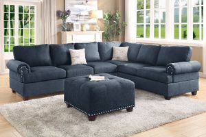 Nebraska Collection 2 PCS Reversible Sectional-Optional matching Ottoman $829.00. Super sale! Limited time offer! Free delivery 🚚 in stock! for Sale in Ontario, CA