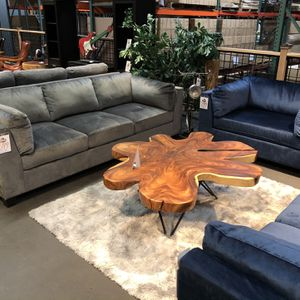 New & In Stock! Sofa Only $599! Available In Blue, Grey, & Brown! Add Chair $299 for Sale in Vancouver, WA