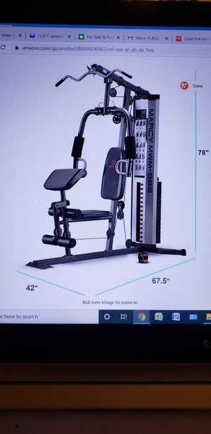 Marcy 150 Pounds Home Gym System for Sale in Pembroke Pines, FL