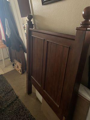Twin bed frame - Headboard/ Footboard for Sale in Riverside, CA