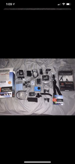 Action camera(off brand go pro) for Sale in Keizer, OR