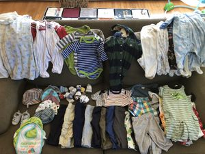 Huge lot of boys 0-6 month clothing for Sale in Fairfax, VA