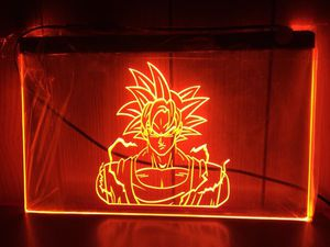 Sun Guko Dragon Ball Z 3D Engraved LED Neon Light Sign Wall Decor for Sale in Akron, OH