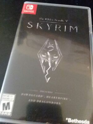 Skyrim for Nintendo Switch for Sale in Kingsport, TN
