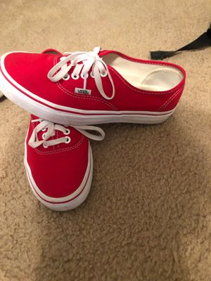 Vans size 8 red 25$ for Sale in Oklahoma City, OK