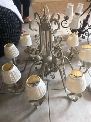 Chandeliers and lamps all for $30 for Sale in Margate, FL