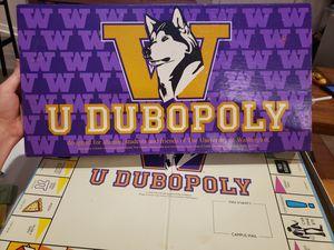 U Dubopoly board game for Sale in Edgewood, WA