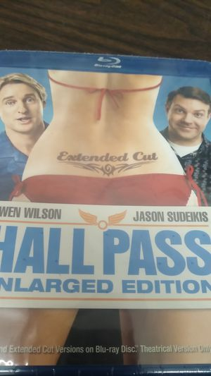 Hall pass in large edition Blu-ray DVD for Sale in Gilroy, CA