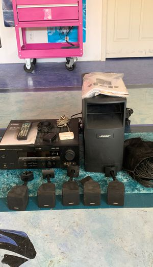Bose Acoustimass 6 Series 111 and Yamaha HTR-5950 Receiver for Sale in San Diego, CA