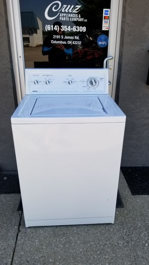 HEAVY DUTY KENMORE WASHER 30 DAYS WARRANTY for Sale in Columbus, OH