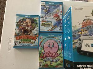 Nintendo Wii - Super Mario Bros 3D world Deluxe Set for Sale in Woodstock, CT