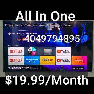 All In One Amazon 4K Firesticks with Alexa Voice Remote Control for Sale in Smyrna, GA