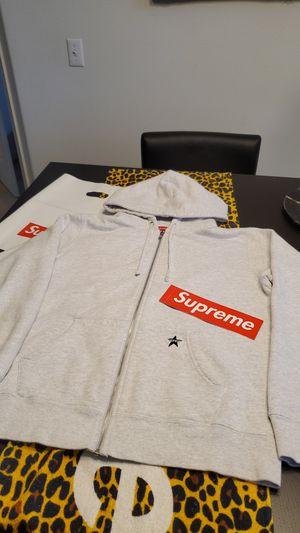 Supreme Star Zip-Up Hoodie - Grey for Sale in Beaverton, OR