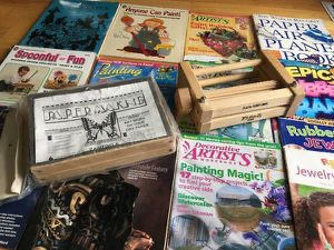 Lot Paper Making Kit, Wooden Crimper Flute-It, plus more for Sale in Steilacoom, WA