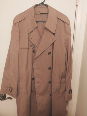 Tan trench coat. for Sale in Chandler, AZ