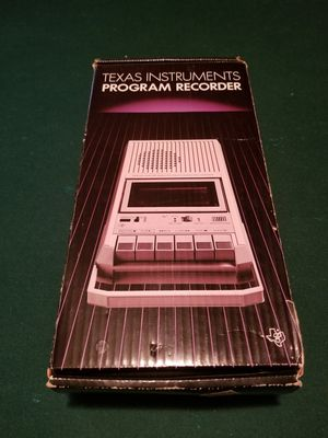 1982 Texas Instruments PHP2700 Computer Program Recorder for Sale in Simpsonville, SC