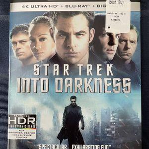 Star Trek Into Darkness - 4K Ultra HD + Blu-ray + Digital (2013) for Sale in Orange, CA