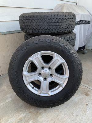 Jeep Wrangler tires for Sale in Escondido, CA