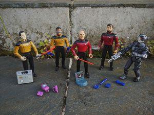 Star Trek TNG figures for Sale in Portland, OR