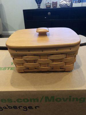 Longaberger Address Basket for Sale in Chandler, AZ