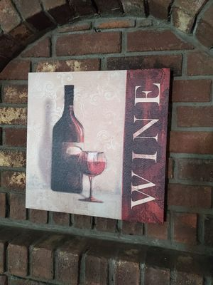 Beautiful wine painting for Sale in Hartford, CT