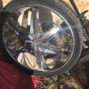 26 Helo Rims N Tires for Sale in San Angelo, TX