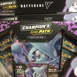 Pokemon Champions Path Hatterene V Collection Boxes for Sale in Los Angeles, CA