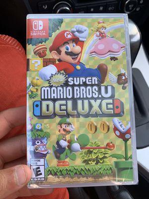Super Mario Bros u Deluxe (BrandNew) Nintendo Switch for Sale in Jurupa Valley, CA
