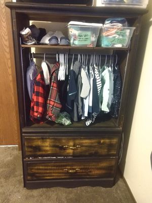 Small Clothing Hutch for Kids for Sale in Lynnwood, WA