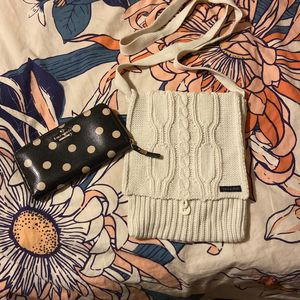 Kate Spade Wallet + SKY JNS knitted Bag for Sale in Mount Vernon, NY