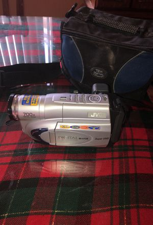 Original brand new video camera JVC with carry on bag all wires and chargers included digital for Sale in Modesto, CA