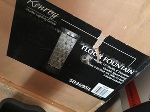 Floor fountain brand new in box, hunter/kenroy for Sale in Newcastle, WA