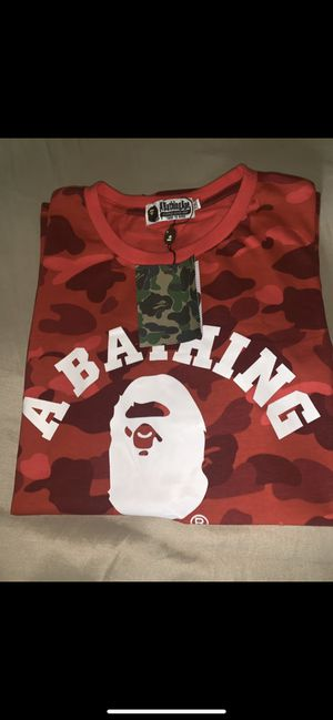 Bape Red Camo T-Shirt for Sale in Buena Park, CA
