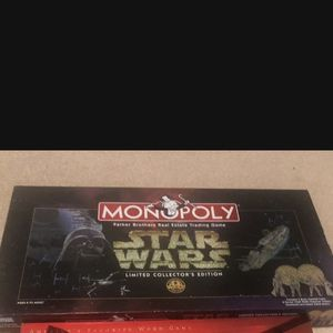 Monopoly 1997 Star Wars Monopoly Limited Collector's edition 20Th Anniversary Board game for Sale in Saint Paul, MN