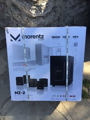 New/Unopened Morentz home theater and professional studio quality HDTV System $1900 for Sale in Los Angeles, CA