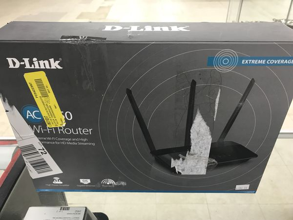 D-Link Ac WiFi Router