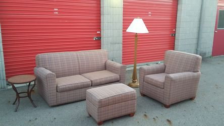 3 PIECE (SLEEPER) SOFA SET for Sale in Columbus,  OH