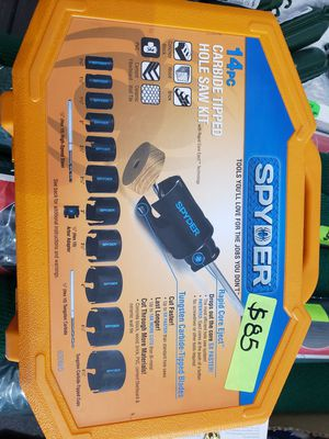 Spyder Hole Saw Kit for Sale in Lutz, FL
