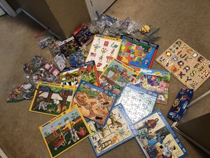 Kids puzzles/matching games for Sale in Dallas, TX