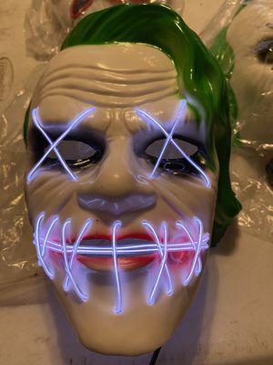 Joker LED mask for Sale in Houston, TX