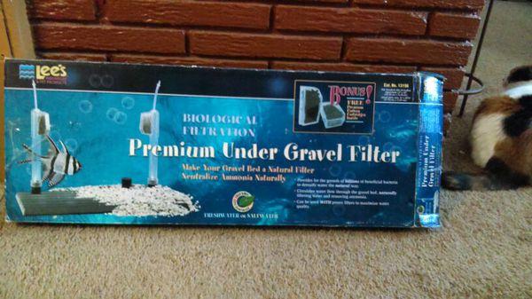 Premium under gravel filter
