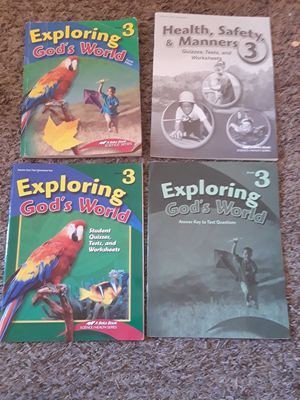 Abeka 3rd grade science books for Sale, used for sale  Antelope, CA